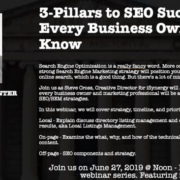 3-Pillars to SEO Success